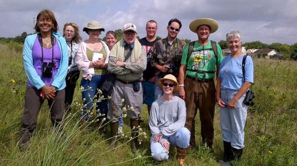 Deer Park Prairie - June 28 Wildflower Tour.  140628