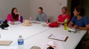 Meadowlark Training at Deer Park Prairie, July 5. 140705
