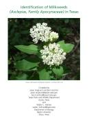 ID Milkweed cover