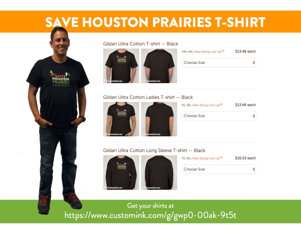 Save Prairie Shirt Shirt Flyer pic