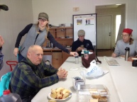 Many thanks to Hazel for the chili lunch!